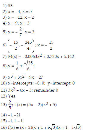 Polynomial Roots